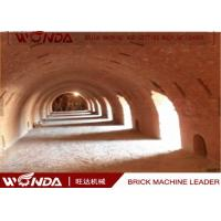 Wholesale Hoffman Brick Tunnel Kiln , Red Clay Brick Making Kiln With Tunnel Dryer from china suppliers