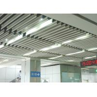 Buy cheap Fashion Aluminium Baffle Ceiling J shaped Plug-in Blade Ceiling  for Airport, Metro from wholesalers