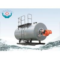 Wholesale Oil / Hot Water Industrial Steam Boiler Freezing Cold Winter Night Safe Operation from china suppliers