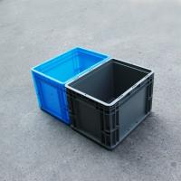 Wholesale Grey Range Heavy duty  Attached lid Euro container with reinforced base 25liter (400*300*280) from china suppliers