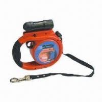 Wholesale Retractable dog leash, LED light attach, available in various colors from china suppliers