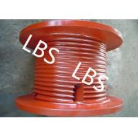 Quality OilField Machinery Wire Rope Drum High Strength Steel Lefthand Rotation Drum for sale