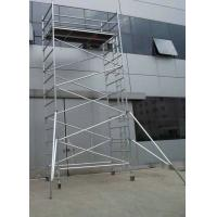 Wholesale Safe Durable Waterproof Aluminum Mobile Scaffolding Tower System / Aluminium Tower Scaffold from china suppliers