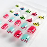 Wholesale Dimonds Acrylic 3D fake nails beauty artifical nails For kids finger from china suppliers