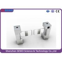 Wholesale TCP IP Access control stainless steel brushed motorized swing barrier turnstile from china suppliers