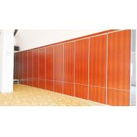 Buy cheap Commercial Wood Room Divider Sliding Door Track Roller Office Partition Wall from wholesalers