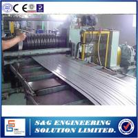 One Slitter Steel Plate Cutting Machine , Low Operating Costs Metal Sheet Slitting Machine
