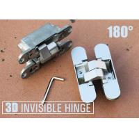 Wholesale Heavy Duty European Hinges Adjustable Concealed Door Hinge 180 Degree Open from china suppliers