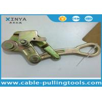 China Steel Pulling Grip Come Along Clamp For ACSR or AAC , Wire Rope Grip on sale
