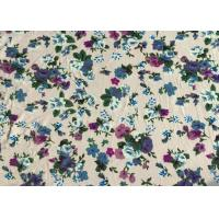 Wholesale Professional Viscose Rayon Fabric Floral Apparel Fabric 118D+20D from china suppliers
