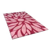 Wholesale Modern Design Hand Tufted Pink Wool Area Rug, Contemporary Floral Patterned Rugs from china suppliers