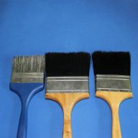 Wholesale Natural Black White Gray Pure Pig Boiled Bristle 60% 90% for paint brushes from china suppliers