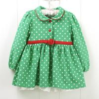 Wholesale Fashion Cotton and Polyester combo Sleeveless Cute knit baby dress for toddler, kids from china suppliers