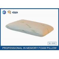 Wholesale Rectangle Small Portable Traditional Memory Foam Body Pillow , PU Memory Foam from china suppliers
