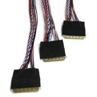 Wholesale I-PEX20454 40P Lvds Coaxial Cable Tinned Copper Led Tv Lvds Cable from china suppliers