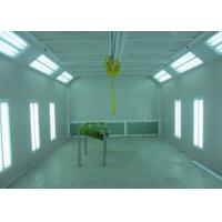 Wholesale LED Lights Custom Woodworking Spray Booth Manual Damper Control Air Quantity from china suppliers