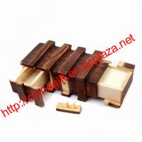 Wholesale Compartment Wooden Secret Magic Puzzle Box from china suppliers