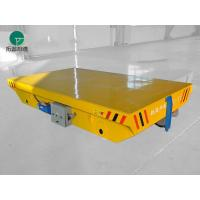 Wholesale Customerized anti-explosion open die handling railway transfer cart with Safety sensors from china suppliers