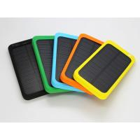 Wholesale Wireless Waterproof Polymer Solar Energy Power Bank 4000mAh Solar portable Charger from china suppliers