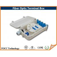 Wholesale Wall Mounted 12 Core Fiber Optic Terminal Box For Optical Splitter Module from china suppliers