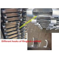 Wholesale Ringlock Scaffolding System , Forged / Pressed hook steel scaffolding boards from china suppliers