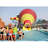 Wholesale Water Park Fiberglass Super Tornado Adult , Kids Water Slides 14.6m Platform Height from china suppliers