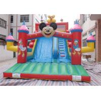 Wholesale Cute Micky Mouse Commercial Inflatable Slide , Inflatable Garden Slide from china suppliers
