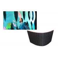 Wholesale 1/16 Scan Flexible Led Display Panels For Indoor / Outdoor 22487 Pixels/Sqm from china suppliers