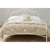 Wholesale Attractive metal frame bed with sturdy metal structure, color customizd from china suppliers