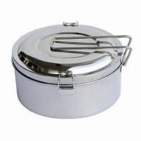 Wholesale Steel Lunch Box with 1.4L Capacity, Strength, Durable, Various Colors and Sizes Available from china suppliers