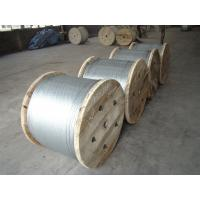 Quality Low Stress 1.0-4.8mm Gauge Galvanized Steel Wire Cable For Atomic Reactor Buildings for sale