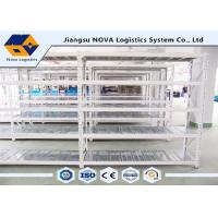 Wholesale Stable Warehouse Medium Duty Shelving 2 - 5 Levels With Hot Rolled Steel Q235B from china suppliers