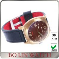 Wholesale 300 Meters WaterProof Bronze Mens Watch With Red Face Bullet - Proof from china suppliers