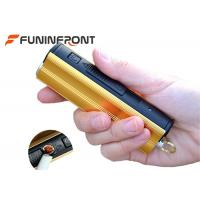 Wholesale Micro USB Charge LED Flashlight with Cigarette Lighter, Ultra Bright LED Torch from china suppliers