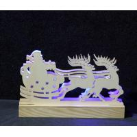 Wholesale christmas fancy night light animal deer shaped LED light decoration gift from china suppliers