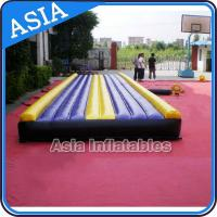 Wholesale Yoga Training Inflatable Tumble Mattress With Constant Blower from china suppliers