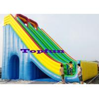 Wholesale High Ladder 12mH Inflatable Slide Amazing Design For Amusement Games from china suppliers