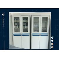 Wholesale HPL MDF Cleanroom Acid Storage Cabinet , Chemical Storage Shelves 900*425*2000mm from china suppliers