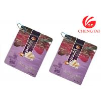 Wholesale Zipper Top Sealing & Handle Stand Up Resealable Pouches for Sugar Packaging from china suppliers
