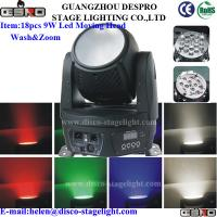 Wholesale DMX512 LED Moving Head Wash Professional Stage Light With Zoom from china suppliers