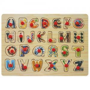 Quality Alphabet peg puzzle for sale