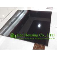 China Black Color Polished Porcelain Tile For Floor And Wall, 600mm * 600mm Black polished tile on sale