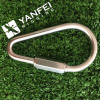 Buy cheap Stainless Steel Pear Shaped Snap Hook With Safety Nut from wholesalers