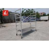Quality Folding Step Bench Working Platform Aluminum Alloy 6082 T6 Protable Work Bench for sale