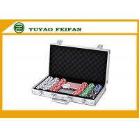 Wholesale 6 Colors Professional Poker Chips Sets For Casino 300 Pcs Round Corner from china suppliers
