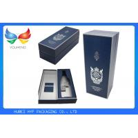 Wholesale Luxury  Wine Packaging Box , Wine Bottle Presentation Box Classic Cardboard Paper Material from china suppliers