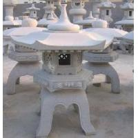 Buy cheap Carved Stone Lantern from wholesalers