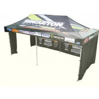 Wholesale Instant Party / Trade Show / Event aluminium pop up gazebo with 3 walls , Heat Transfer Printing from china suppliers