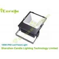 Wholesale Commercial 150 Watt High Power Led Floodlight 13000LM , Black 1070 Aluminum Housing from china suppliers