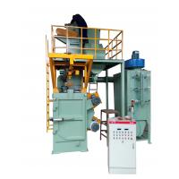 Wholesale Electric Fuel Auto Shot Blasting Machine 150Kg Load Capacity Environmental Friendly from china suppliers